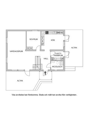 Välplanerad fristående villa i barnvänliga Lidatorp!